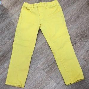 Fun Yellow Jeans